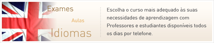 Cursos Línguas