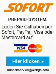 Prepaid-Guthaben aufladen
