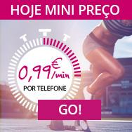 Hoje promoção de 15€ para 20 min no Chat - 07/02/16