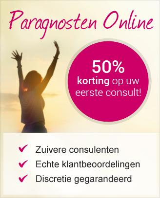 Paragnosten Online 50% korting op uw eerste consult!