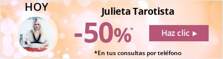 Hoy 50% dscto - Julieta Tarotista