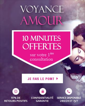 Voyance opération amour: profitez de 10 minutes offertes pour votre 1ère consultation