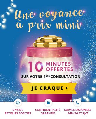 Voyance à prix mini #2: profitez de 10 minutes offertes pour votre 1ère consultation