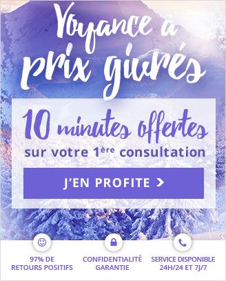 Prix givrés ! Profitez de 10 minutes offertes pour votre 1ère consultation